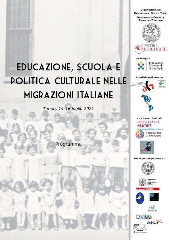 Educazione, scuola e politica culturale nelle migrazioni italiane